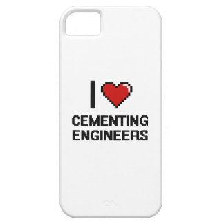 I love Cementing Engineers iPhone 5 Cases