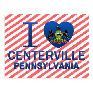 I Love Centerville, PA Postcard
