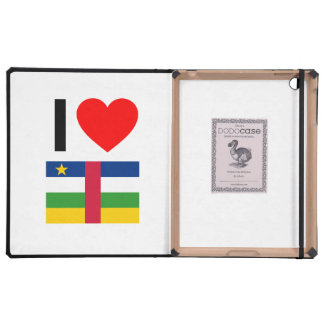 i love central african republic cases for iPad