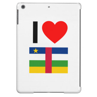 i love central african republic case for iPad air