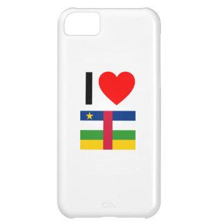 i love central african republic iPhone 5C case
