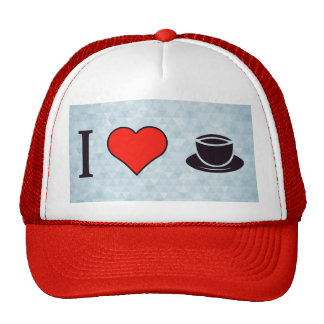 I Love Ceremonial Tea Parties Cap