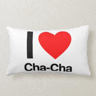 i love cha-cha lumbar cushion