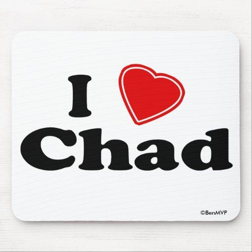 I Love Chad Mousepad