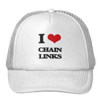 I love Chain Links Trucker Hat
