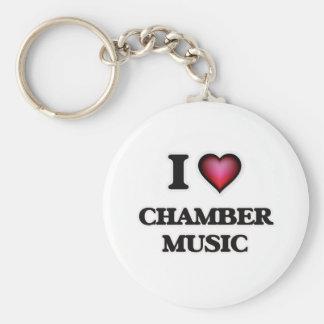 I love Chamber Music Key Ring