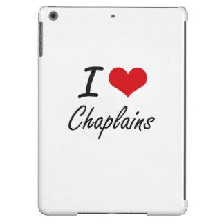 I love Chaplains Artistic Design Case For iPad Air