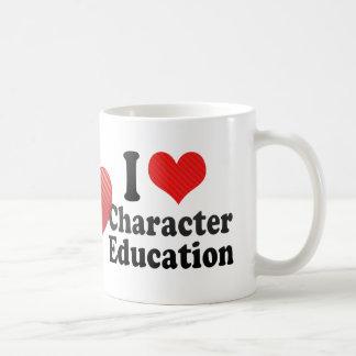 I Love Character Education Coffee Mug