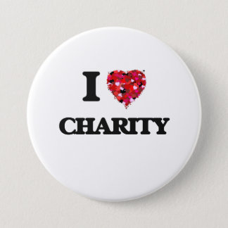 I love Charity 7.5 Cm Round Badge