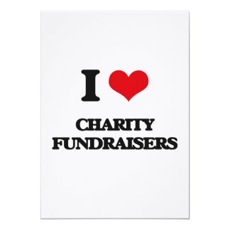 I love Charity Fundraisers Announcement