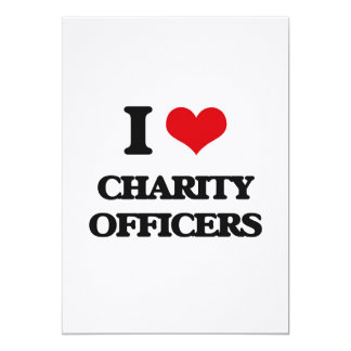I love Charity Officers Card