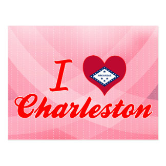 I Love Charleston, Arkansas Postcard