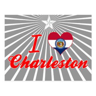 I Love Charleston, Missouri Postcards