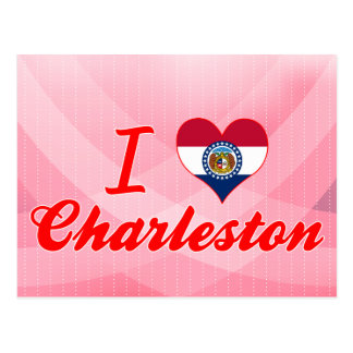 I Love Charleston, Missouri Post Cards