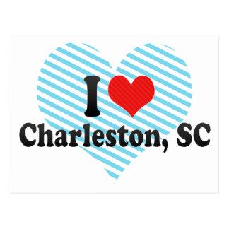 I Love Charleston, SC Post Cards