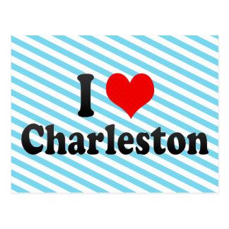 I Love Charleston, United States Post Card