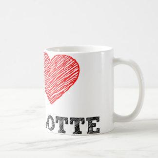 I Love Charlotte Coffee Mug
