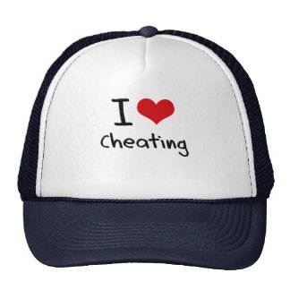 I love Cheating Cap
