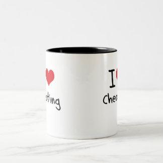 I love Cheating Two-Tone Coffee Mug