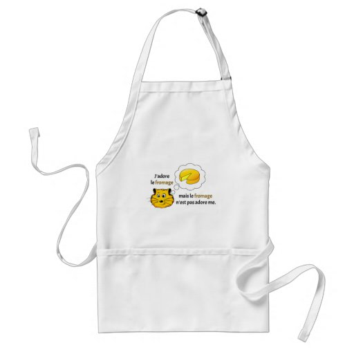 I love cheese aprons