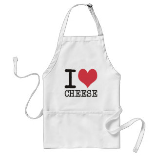 I Love Cheese - Candy - Cereal Products & Designs! Apron
