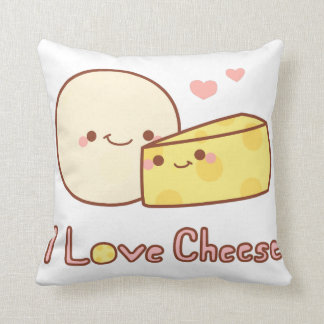 I Love Cheese Pillow