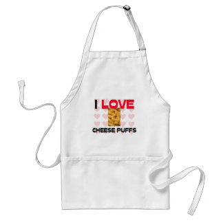 I Love Cheese Puffs Aprons