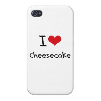 I love Cheesecake iPhone 4 Cases