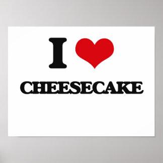 I love Cheesecake Posters