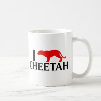 I Love Cheetah Coffee Mug