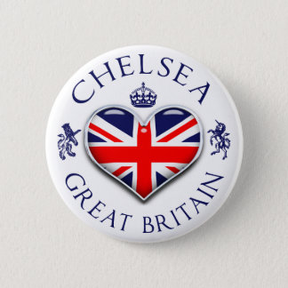 I Love Chelsea 6 Cm Round Badge