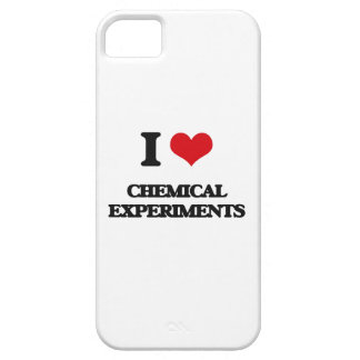 I Love Chemical Experiments iPhone 5 Covers