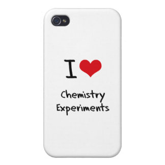 I love Chemistry Experiments iPhone 4 Cases