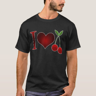 I Love Cherries T-Shirt