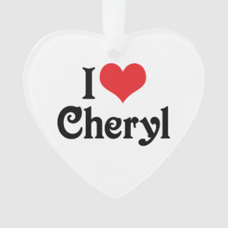I Love Cheryl
