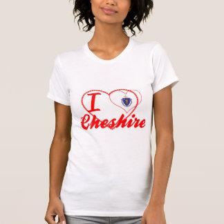 I Love Cheshire Massachusetts Shirts
