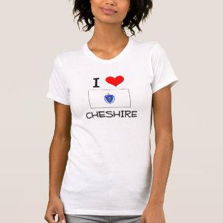 I Love Cheshire Massachusetts Tee Shirts