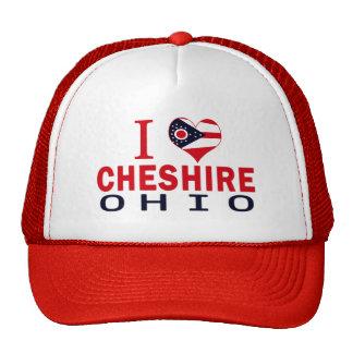 I love Cheshire, Ohio Mesh Hat