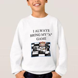 i love chess player sweatshirt