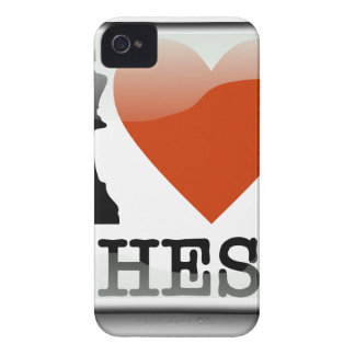 I Love Chess Sign iPhone 4 Case-Mate Case