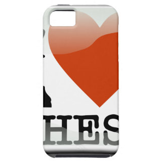 I Love Chess Sign iPhone 5 Case