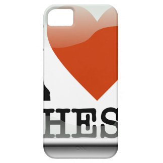 I Love Chess Sign iPhone 5 Cases