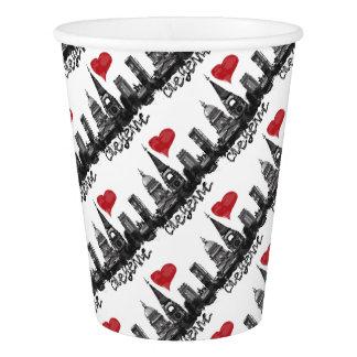 I love Cheyenne Paper Cup