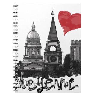 I love Cheyenne Spiral Notebook