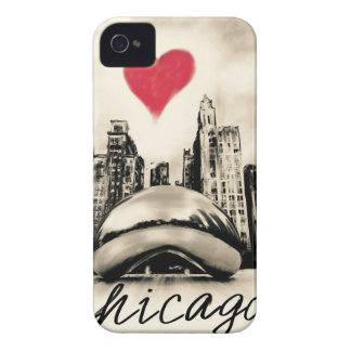 I love Chicago iPhone 4 Case-Mate Cases