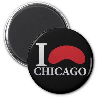 I LOVE CHICAGO MAGNET