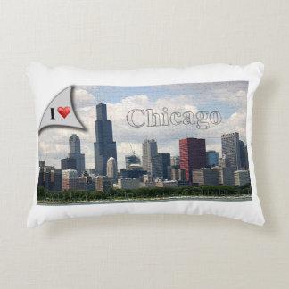 I love Chicago (pillow) Decorative Cushion