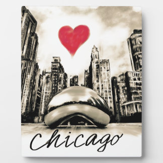 I love Chicago Plaque