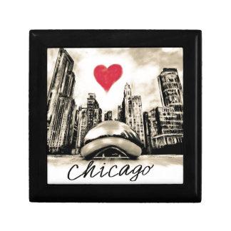 I love Chicago Small Square Gift Box