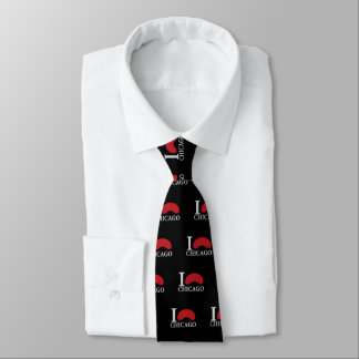 I LOVE CHICAGO TIE